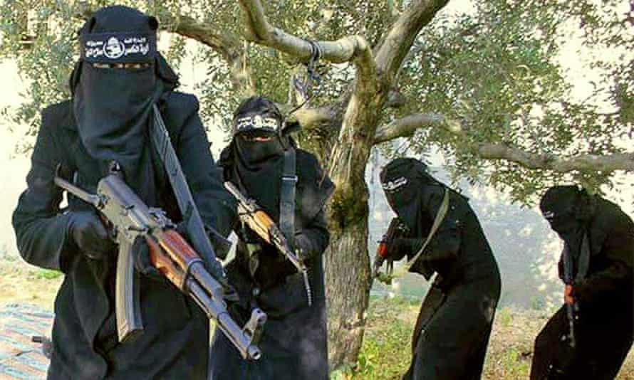 The all-female al-Khanssaa Brigade in Syria