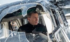 Daniel Craig in Spectre.