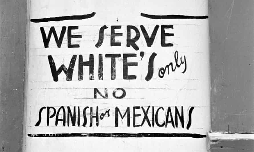 'Juan Crow' laws, patterned after American Jim Crow laws, enforced the racial discrimination practiced against Mexican Americans.