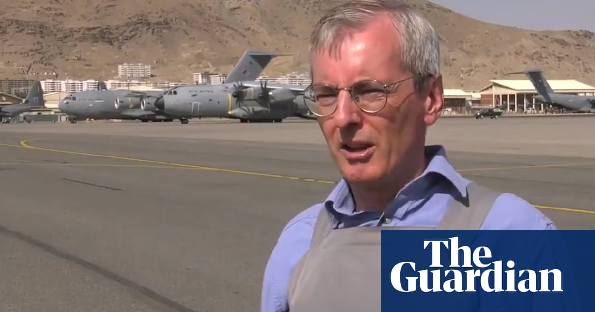 UK has not forgotten those who still need to leave Afghanistan, says ambassador – video
