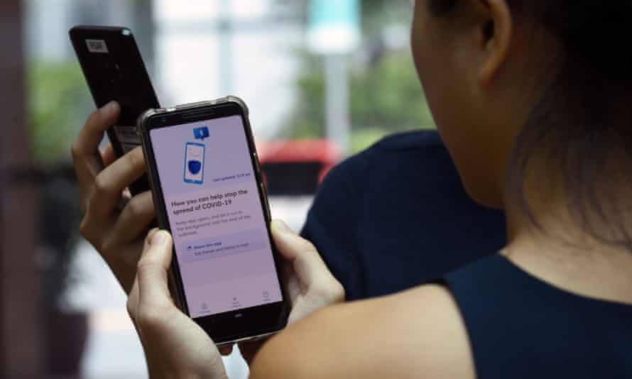 Singapore has already debuted its contact-tracing app, similar to apps that Google and Apple will be collaborating on.