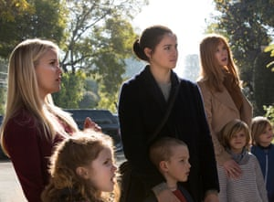 Reese Witherspoon, Shailene Woodley and Nicole Kidman in Big Little Lies.