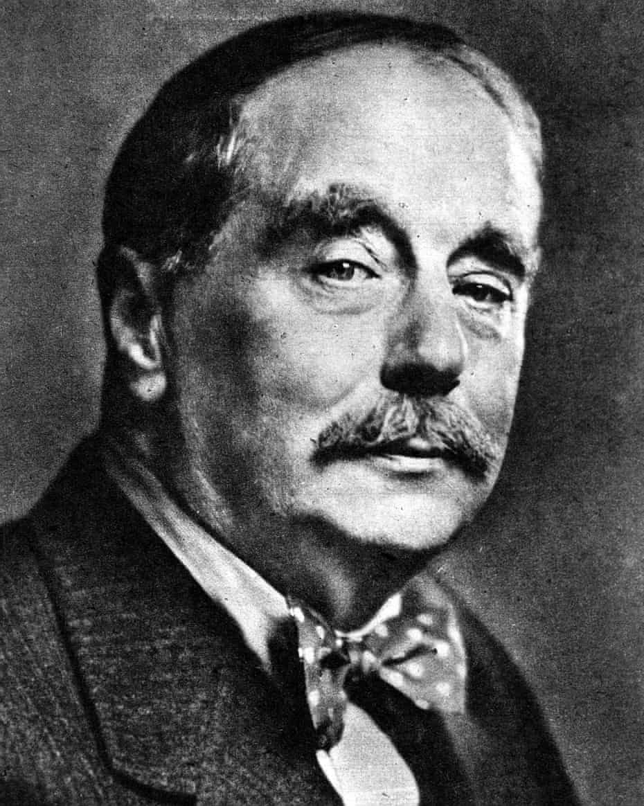 HG Wells, early 1940s.