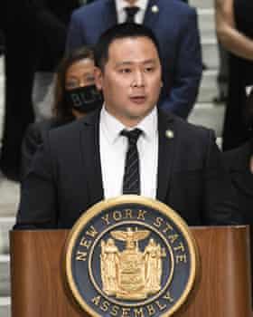 Democratic assemblyman Ron Kim.