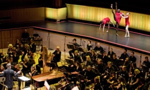 The Philharmonia Orchestra at the Royal Festival Hall.