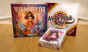 Our monthly guide to the best new board games looks at Yamatai, Lotus and New York Slice.