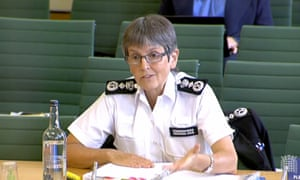 Commissioner Dame Cressida Dick appearing before the Home Affairs Select Committee.