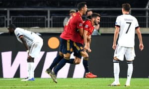 Germany 1 1 Spain Finland 0 1 Wales And More Nations League As It Happened Football The Guardian
