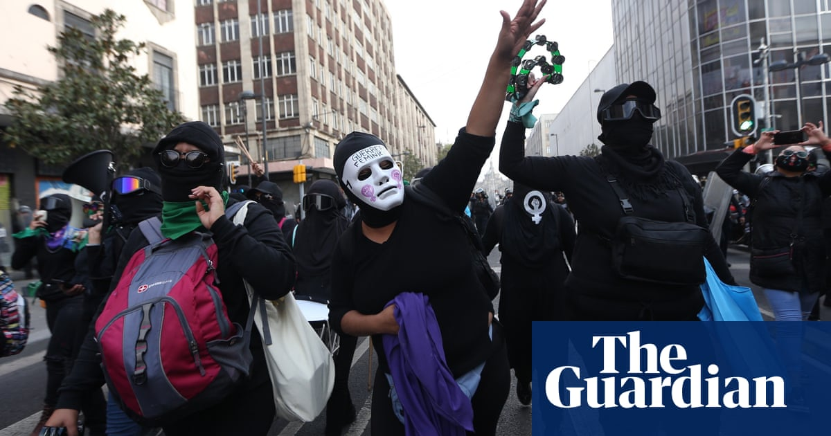 'Amlo made us public enemy No 1': why feminists are Mexico's voice of opposition