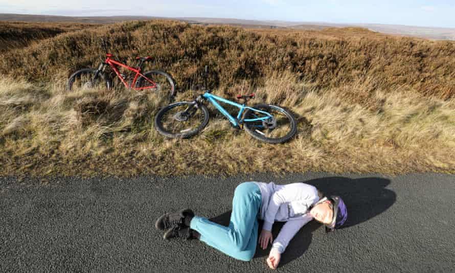 Martha takes a rest.