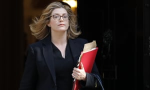 Penny Mordaunt, the equalities minister