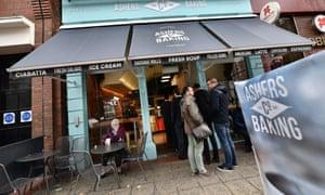 Ashers bakery in Belfast.