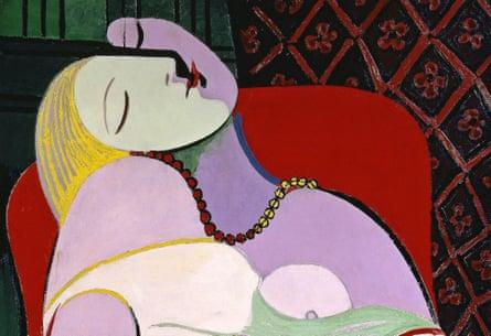 Picasso's Le Rêve (The Dream, detail)
