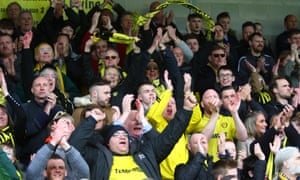 Burton's small but loyal hardcore of fans have seen their team edge towards an unlikely escape from the drop.