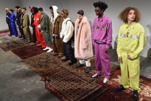 Nineties hip-hop artists and streetwear were the themes for Ryohei Kawanishi's Landlord collection.