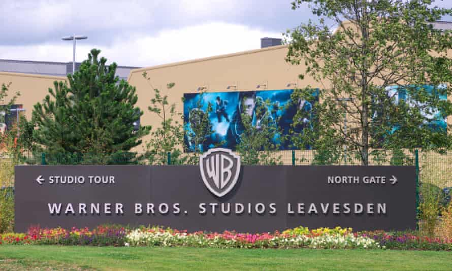 Unaffected … the Harry Potter Studio Tour at Leavesden Studios.