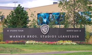 Main entrance to Leavesden Studios.