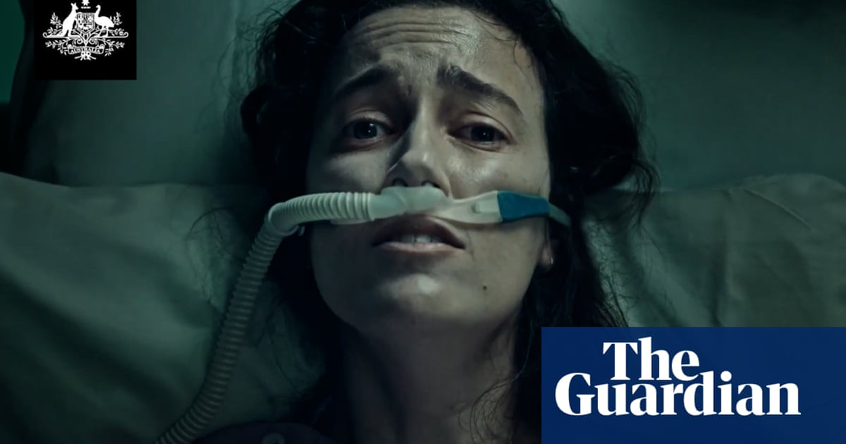 Australian ad showing Covid patient gasping for air 'could increase vaccine hesitancy'