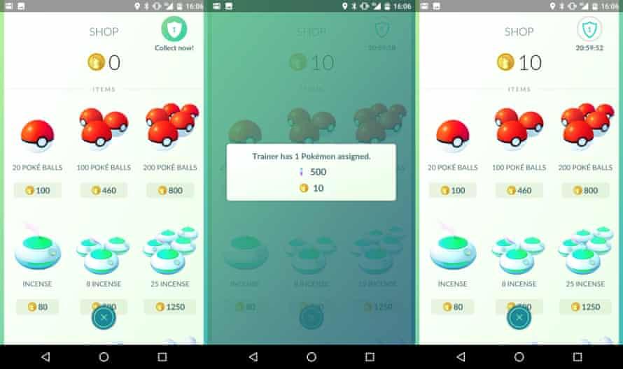 pokemon go gym rewards