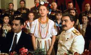 Robert Duvall (right) as the Russian dictator in Passer's 1992 TV movie Stalin.