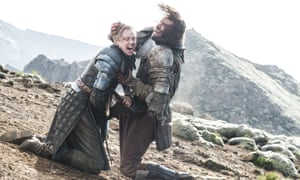 As Brienne in Game Of Thrones.