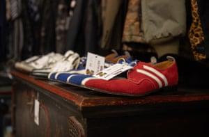 Flint's shoes