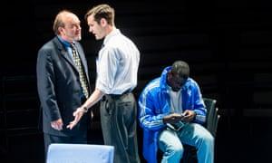 David Haig, Luke Norris and Daniel Kaluuya in Blue/Orange.