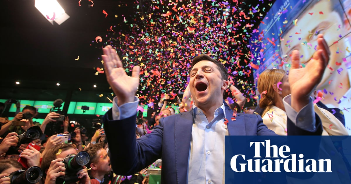 Volodymyr Zelenskiy: after the landslide, things get serious for Servant of the People