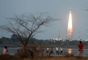 India launches its most powerful homegrown rocket to date in Sriharikota