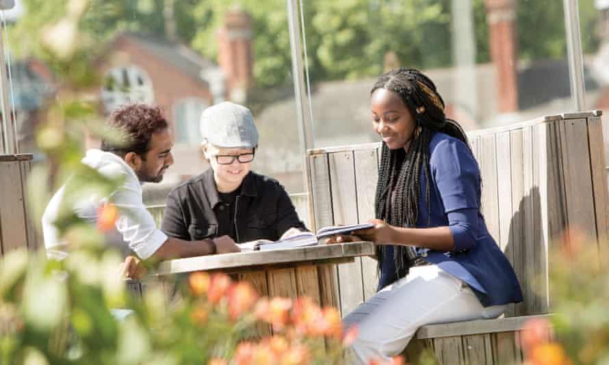 Nottingham Trent University has 30,000 students.