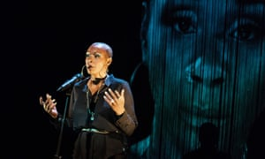 Deeply personal … Josette Bushell-Mingo in Nina: A Story About Me and Nina Simone at the Unity, Liverpool.