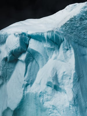 Frozen Details (2018) A study of the intricate characteristics of a melting iceberg, Nalluarsuk, Greenland