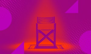 graphic of director's chair