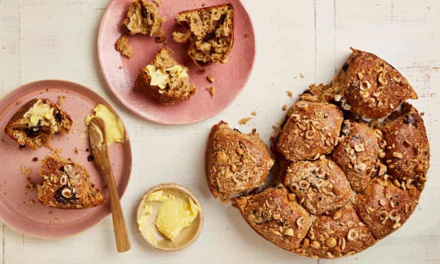 Yotam Ottolenghi's chocolate and hazelnut 'Colomba' buns