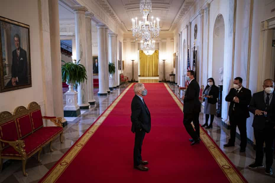 Anthony Fauci in the White House