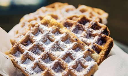 Volunteers were given a western-style diet featuring generous amounts of Belgian waffles.