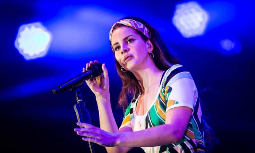 Lana Del Rey, in 2017.