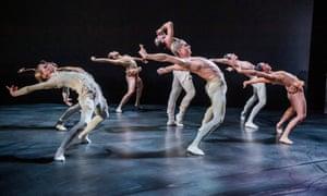 Deeply sensual … Aisha and Abhaya by Rambert and the Royal Ballet.