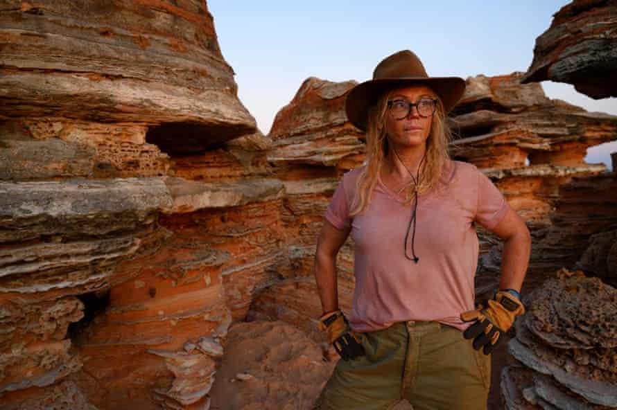 Sofia Helin as Sandra, a Swedish archaeologist.