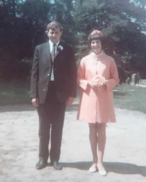 John and Doreen Chappell on their wedding day in 1969.