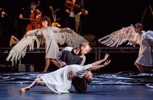 Very little palaver … Alexander Leonhartsberger and Rachel Poirier in Swan Lake by Michael Keegan-Dolan.