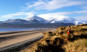 Beach and Mountains of Mourne,