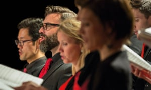 The Norwegian Soloists Choir, who are performing as part of 150 Psalms.