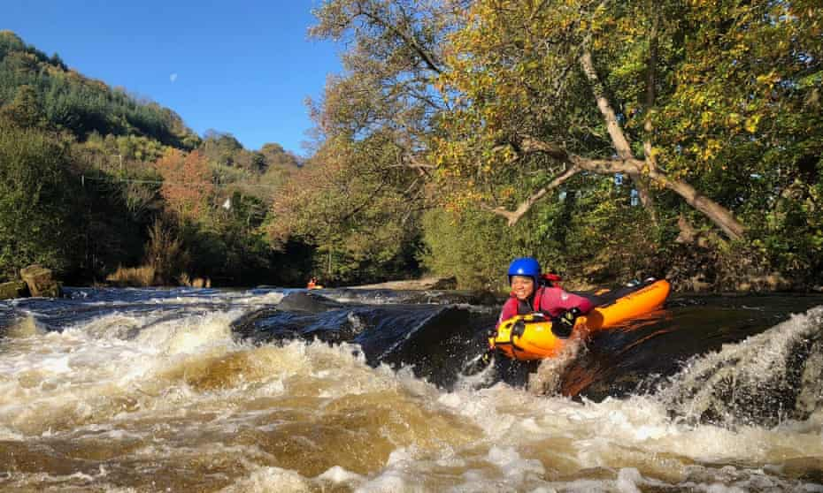 Riverbugging on the River Dee