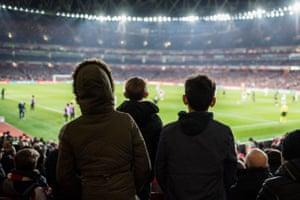 15 March 2018, Europa League: Arsenal 3-1 AC Milan.