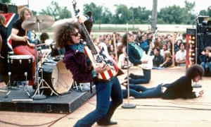 'Ungovernable antics': Wayne Kramer, foreground, and his MC5 bandmates perform live in Michigan in 1969