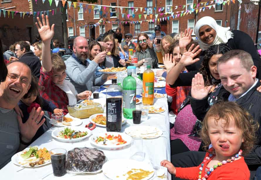 The Big Lunch at City Church in Belfast.