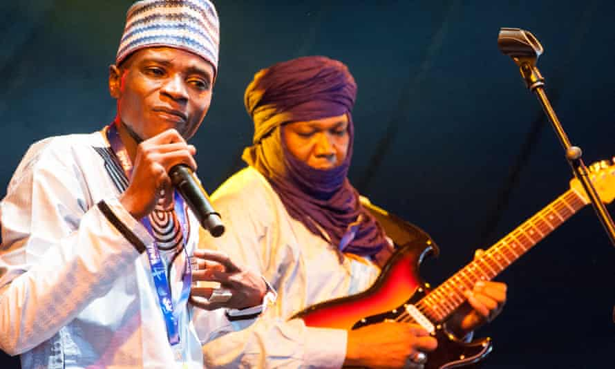 Tal National from Niger at the Womad festival in Malmesbury in July.