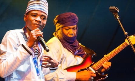The members of Tal National able to perform at Womad after some of their bandmates were denied entry to the UK.