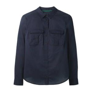 Navy shirt, £50, boden.co.uk.